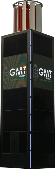 Green Media Tower : GMT Solution 1